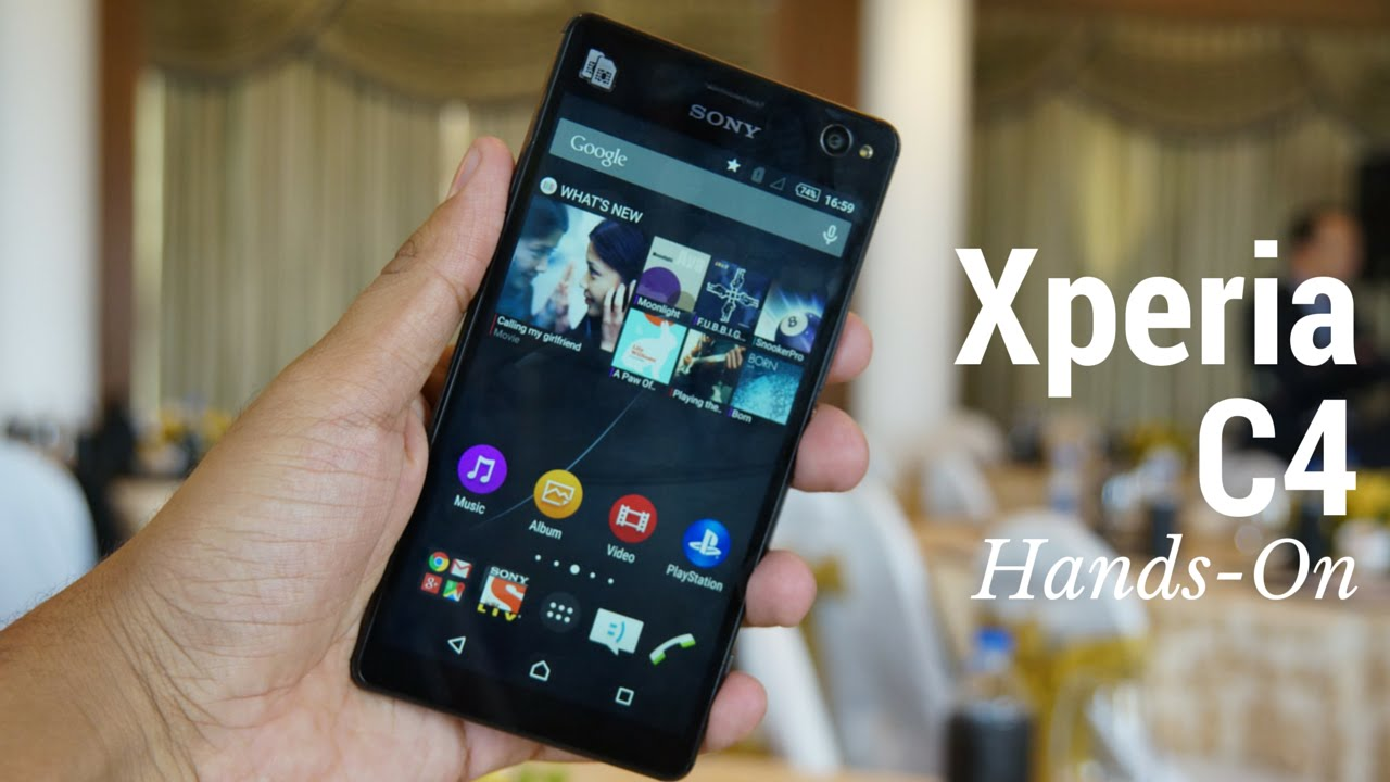 A review of Sony xPeria C4
